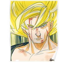 Super Saiyan Goku Poster