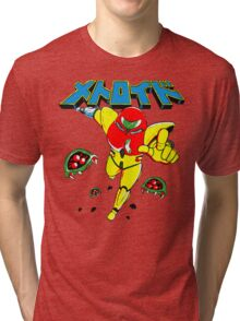 Metroid Japanese Promo Tri-blend T-Shirt