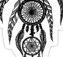 Dreamcatcher, ornate spiritual design Sticker