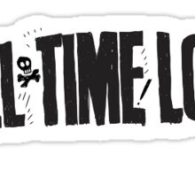 all time low sticker Sticker