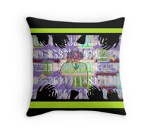 Professor Einstein - Happy Birthday - it's a Feynman Pi Day! Throw Pillow