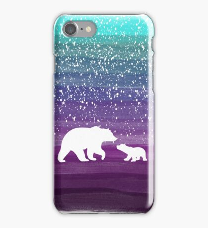 Bears from the Purple Dream iPhone Case/Skin
