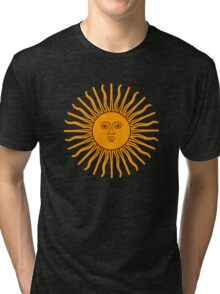 The Sun of May Tri-blend T-Shirt