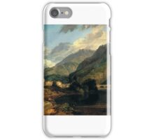 Joseph Mallord William Turner Paintings, Bonneville, Savoy, with Mont Blanc, iPhone Case/Skin