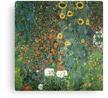 Gustav Klimt - The Sunflower Canvas Print