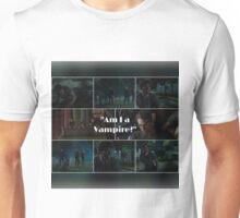 Am I a Vampire?- Simon Lewis.  Unisex T-Shirt