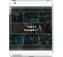 Am I a Vampire?- Simon Lewis.  iPad Case/Skin