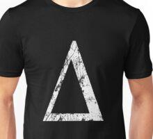 Delta Greek Letter Symbol Grunge Style Unisex T-Shirt