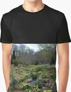 A Botanical Garden View Graphic T-Shirt