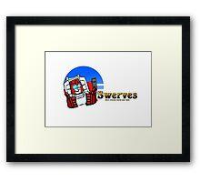 Transformers Swerve Framed Print