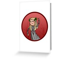 cute thranduil  Greeting Card