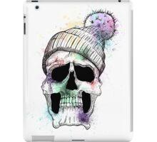 Pastel Skull on White iPad Case/Skin