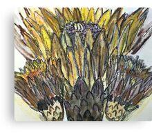 Cactus Crown Canvas Print