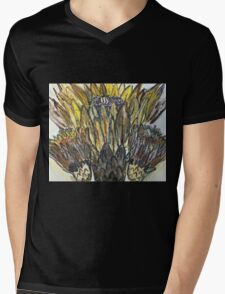 Cactus Crown Mens V-Neck T-Shirt