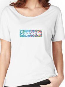 Supreme X Bape rainbow camo Women's Relaxed Fit T-Shirt
