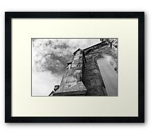Phantasmagoria ~ Black & White Gothic Church Image  ~ St Mary's Church, Bagillt Framed Print