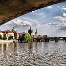 Prague - Under the Bridge by Eugenio