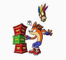 Crash Bandicoot and the crates Unisex T-Shirt