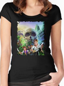 Monkey Island Special Edition Women's Fitted Scoop T-Shirt