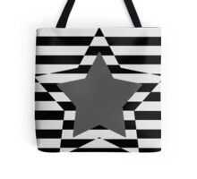 Patriotism in Shades of Grey Tote Bag