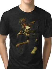 Saturn Devouring His Son - Francisco Goya Tri-blend T-Shirt