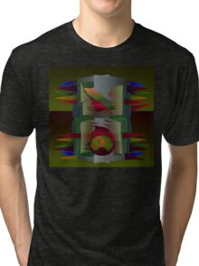 Green Mantle Tri-blend T-Shirt