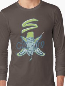 Scissors troll Long Sleeve T-Shirt