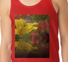 Through The Wire Mesh Tank Top