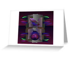 Purple Mantle Greeting Card