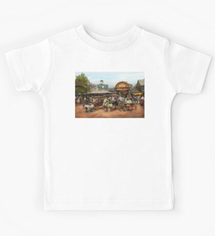 Animal - Goats - Coney Island NY - Kid rides 1904 Kids Tee