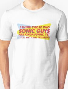 I think those two Sonic guys are kinda funny.... T-Shirt