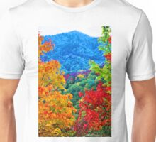 MAPLE TREES,BLUE RIDGE PARKWAY Unisex T-Shirt