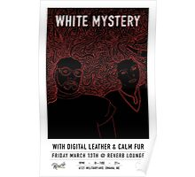 White Mystery @ Reverb Lounge Poster