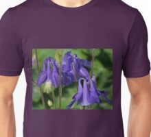 Blue Columbine Unisex T-Shirt