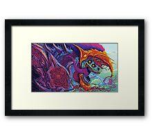 CSGO Hyperbeast  Framed Print