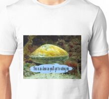 Vance, the King scallop stands his ground Unisex T-Shirt