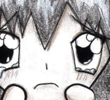 Sad anime girl </3 Sticker
