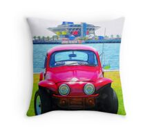Bug And The Pier Throw Pillow