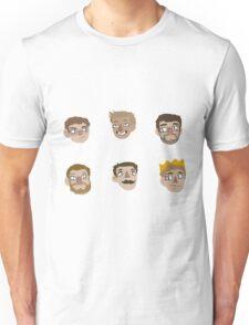 Achievement Hunter Stickers  Unisex T-Shirt
