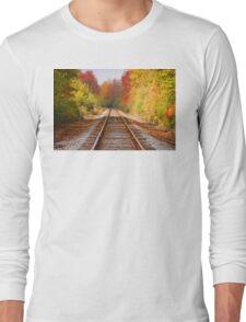 Fading Tracks Long Sleeve T-Shirt