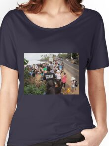 """WATCHING THE """"EDDIE"""" Women's Relaxed Fit T-Shirt"""