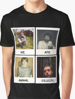 We Are Animal Collective (Polaroids) Graphic T-Shirt