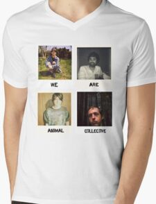 We Are Animal Collective (Polaroids) Mens V-Neck T-Shirt