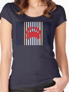 Classy Crab Women's Fitted Scoop T-Shirt