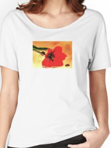 Meet Me in the Tulips Women's Relaxed Fit T-Shirt