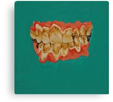 meth mouth Canvas Print