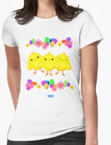 Baby Chicks Womens Fitted T-Shirt