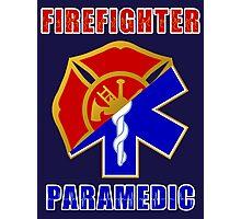 Firefighter-Paramedic Photographic Print