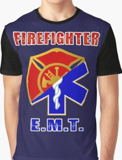Firefighter-EMT Graphic T-Shirt