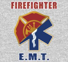 Firefighter-EMT One Piece - Long Sleeve
